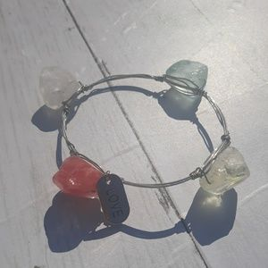 Multi-colored Stone Bangle